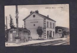 Sompuis (51) - La Gare ( Chemin De Fer Photo Heraud ) - Frankreich