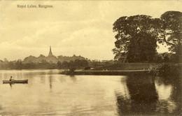 R ANGOON (Yangon , Birmanie) Royal Lakes, Lac Royal, 2 Scans - Bangladesh