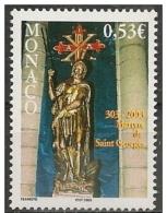 Monaco: Martirio Di San Giorgio, Martyre De Saint-George, Martyrdom Of St. George - Cristianesimo