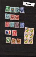 Lot De Timbres Français/colonies  (env 20 Timbres) Neuf Sans Charnière (PPP3247) - Stamps