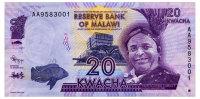 MALAWI 20 KWACHA 2012 Pick 57a Unc - Malawi