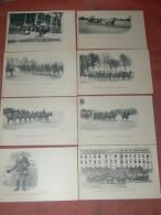 SAUMUR 1900  LOT 8 CPA N° 33  A  40  / ECUYER / CARROUSEL /SONNEUR / EQUITATION / EDIT FR.VOELCKER A SAUMUR - Saumur