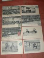 SAUMUR 1900  LOT 8 CPA N° 41  A  55  / ECUYER / CARROUSEL / EQUITATION / EDIT FR.VOELCKER A SAUMUR - Saumur