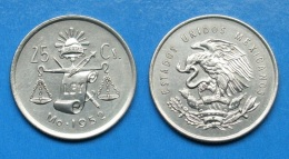 Mexiko 25 Centavos 1952 Silber Ag Schön ! Selten !       (H96) - Messico