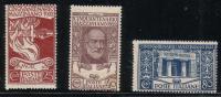 Regno D´Italia - 1922 - 50° Mazzini - Serie Completa ** MNH - Nuovi