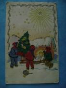 CP AVEC AJOUTIS  FETES-   NOEL - - Noël