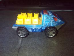MATCHBOX MATTEL 2001 ARMORED RESPONSE VEHICLE BLUE&YELLOW  RARE LOW PRICE EVER DIECAST METAL - Matchbox (Mattel)