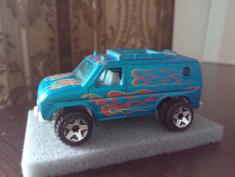 Hot Wheels  Van Mattel Inc. 1977 B48 Flames On Side And TopRARE LOW PRICE EVER DIECAST METAL - HotWheels