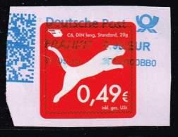Hermeskopf, Standardbrief Auf Papier - [7] République Fédérale