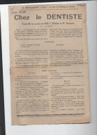 """Saynète """"chez Le Dentiste (vaudeville En 1 Acte) (PPP3251) - Theatre & Scripts"""