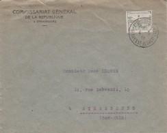 Env Affranchie Y&T 150 Obl STRASBOURG * KERMESSE ALSACIENNE * Du 4.9.19 - Marcophilie (Lettres)