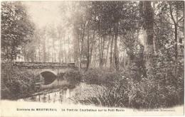 Dépt 51 - MONTMIRAIL - Le Pont De Courbetaux Sur Le Petit-Morin - Montmirail