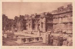 BAALBEK TEMPLE DE JUPITER GRANDE COUR MONUMENT HISTORIQUE SYRIE - Monde