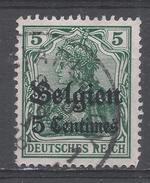 Belgium, German Occupation 1914, Scott #N2 Germania (U) - Zone Belge