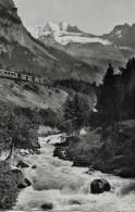 LÖTSCHBERGBAHN → Zugkomposition Unterwegs Bei Blausee-Mitholz 1950 - BE Bern