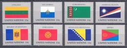 Nations Unies New York YT N°783/790 Drapeaux Des Etats Membres Neuf ** - New-York - Siège De L'ONU