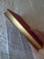 ANTIQUE RARE RRR FRENCH BOOK 1904 LES ENFANTES DE LA FERME BIBLIOTHEQUE ROSE GOLD PLATED PAGES UNIQUE - Bücher, Zeitschriften, Comics