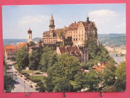 Allemagne - Sigmaringen An Der Donau - Schloss Des Fürsten Von Hohenzollerrn - 1981 - Scans Recto-vers - Sigmaringen