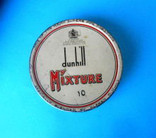 DUNHILL - Vintage Tobacco Tin Box * MY MIXTURE - 10 * NET WT. 1.77 Oz ( 50 Gm ) - Boites à Tabac Vides