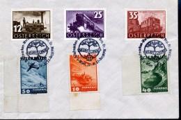 Sonderstempel  -Briefmarken - Werbeschau Der Bez. Gr. Meidling  1937 - Ohne Zuordnung