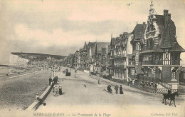 MERS LES BAINS.La Promenade De La Plage - Mers Les Bains