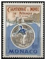 Monaco: Mondiale Di Petanque, World Championships Of Petanque, Championnats Du Monde De Pétanque