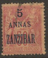 #101# ZANZIBAR N° 28 Oblitéré