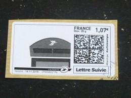 FRANCE MONTIMBRENLIGNE LETTRE SUIVIE BOITE AUX LETTRES - Personnalisés
