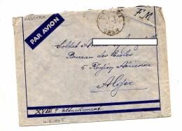 Lettre Franchise Militaire Oran - Lettres & Documents