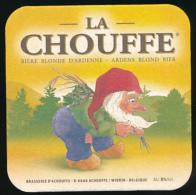 Sous-bocks : La Chouffe, Bière Blonde D'Ardenne, Brasserie D'Achouffe, Belgique - Sous-bocks