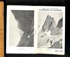 Chemins De Fer PLM : Excursions En Dauphiné 1913 / Publicités Dont Auto Cars Saurer Autocars Autocar Car Bus - Dépliants Turistici