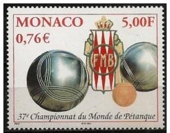 Monaco: Campionato Mondiale Di Bocce, World Championship Bowls, Bols Championnat Du Monde