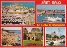 France La Cote D'Emeraude Saint-Malo Multi View - Bretagne