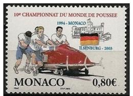 Monaco: Campionati Del Mondo Di Bob, World Championships Bob, Championnats Du Monde De Bob - Inverno