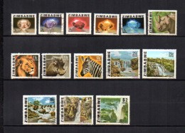 Zimbabwe    1980  .-  Y&T  Nº   1/8 - 10/15 - Zimbabwe (1980-...)