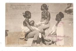 CPA  Soudan KA KA Femmes Foutanké  Femmes Une Seins Nus Enfant - Soudan