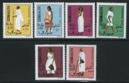 1975 Somalia, Costumi Nazionali, Serie Completa Nuova (**) - Somalia (1960-...)