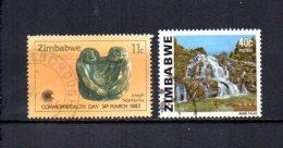 Zimbabwe    1983  .-  Y&T  Nº   46- 49 - Zimbabwe (1980-...)
