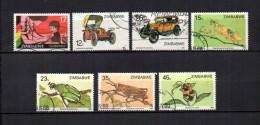 Zimbabwe    1985-88  .-  Y&T  Nº    110 - 125 - 127 - 148/151 - Zimbabwe (1980-...)