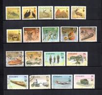 Zimbabwe    1990  .-  Y&T  Nº    192/209 - Zimbabwe (1980-...)