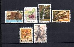 Zimbabwe    1990-92  .-  Y&T  Nº    218 - 237 - 240 - 247 - 255 - 266 - Zimbabwe (1980-...)