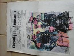 Journaux Journal Satirique Chronique Amusante Avril  Mai 1900 Lot De 7 Exemplaires - Ohne Zuordnung