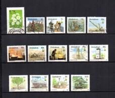 Zimbabwe    1994-95  .-  Y&T  Nº    303 - 315/327 - Zimbabwe (1980-...)