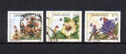 Zimbabwe    2002  .-  Y&T  Nº    493/494 - 496 - Zimbabwe (1980-...)