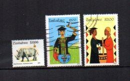 Zimbabwe    2003  .-  Y&T  Nº    516 - 518/519 - Zimbabwe (1980-...)
