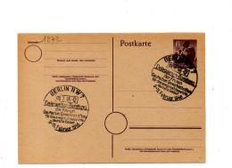 SP1272 - GERMANIA OCCUPAZIONE, Intero Postale Con Annullo Commemorativo Del 1946 : BERLIN NW7 09.2.46 - Zone Soviétique