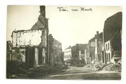 Visé : Rue Haute - Guerra 1914-18