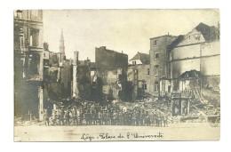 Guerre 14-18 : Liège : Place Del'Université - Guerra 1914-18
