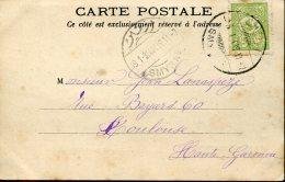 9923  Turkey, Smyrne, 1904 Circuled To France - 1837-1914 Smyrna