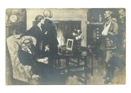 Guerre 14-18 : Scène Dans Une Maison - Guerra 1914-18